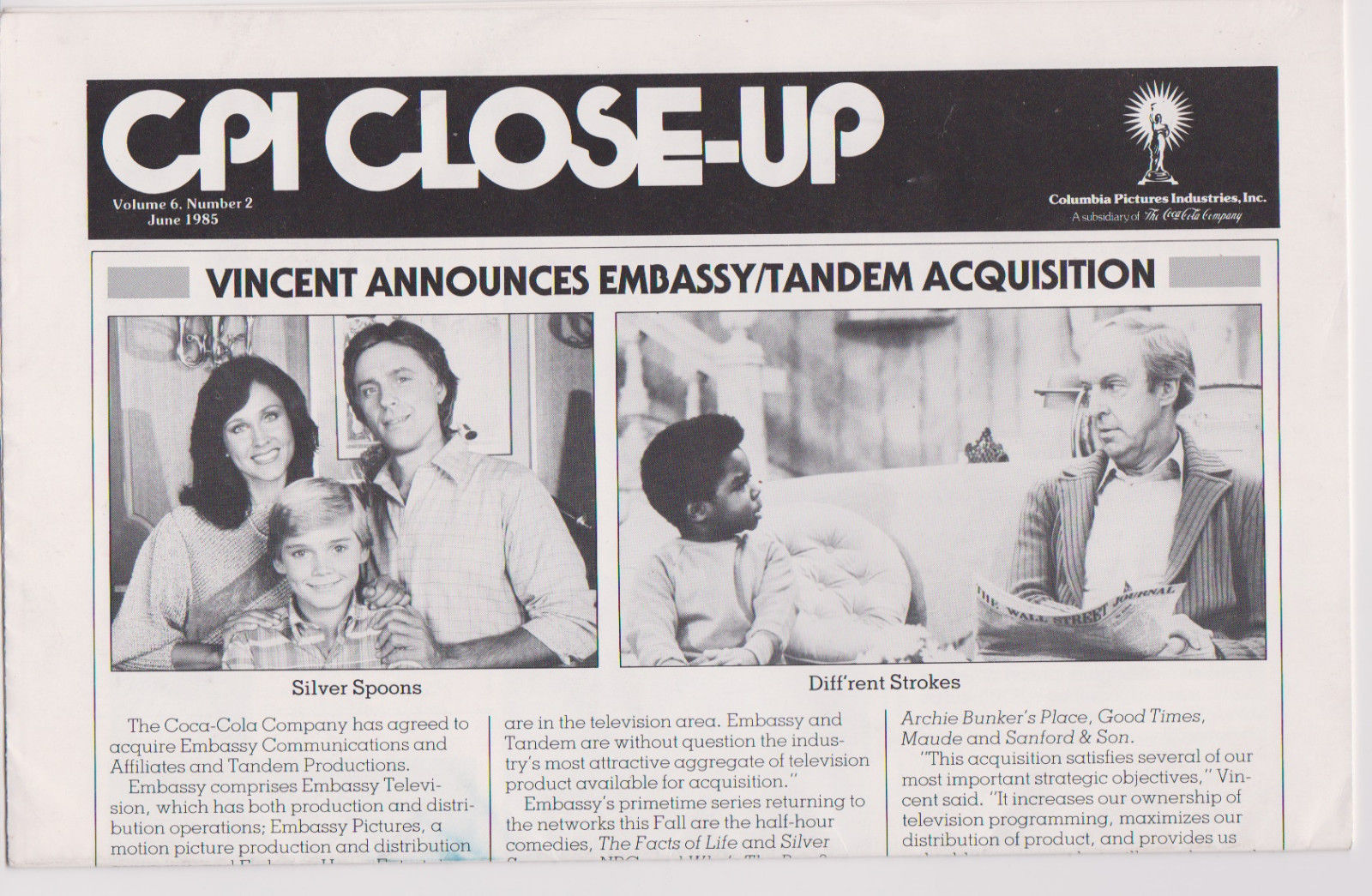 CPI_CLOSE_UP_SILVER_SPOONS_DIFF_RENT_STROKES_Columbia_Pictures_Trade_Mag_1985