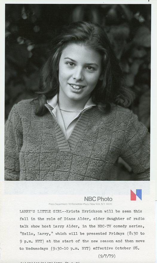 KRISTA_ERRICKSON_CUTE_SMILING_PORTRAIT_HELLO_LARRY_ORIGINAL_1979_NBC_TV_PHOTO