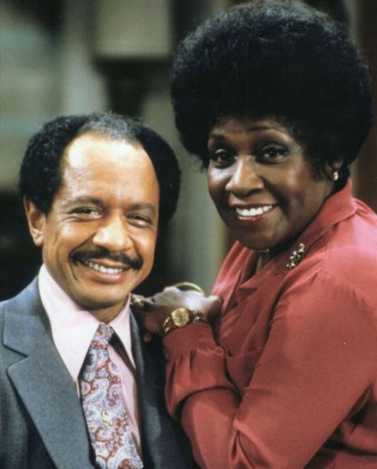 THE_JEFFERSONS_TV_SHOW_8_x_10_PHOTO_FREE_SHIPPING_TOO_