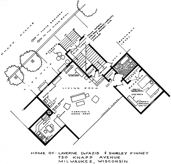 floor plan of laverne amp shirley s apartment sitcoms sitcom home floor plans submited images