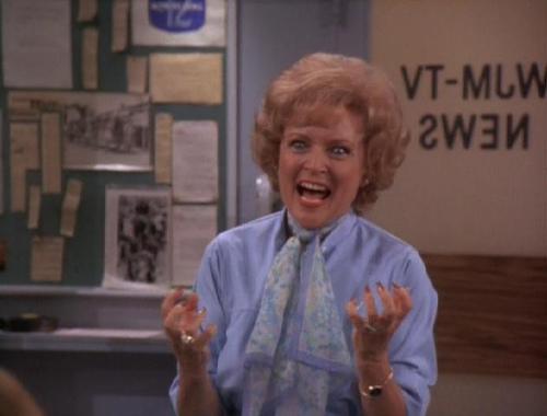 Betty White as Sue Ann Nivens - Sitcoms Online Photo Galleries