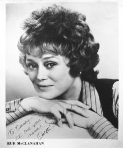 Maude - Rue McClanahan - Autographed - Sitcoms Online ...