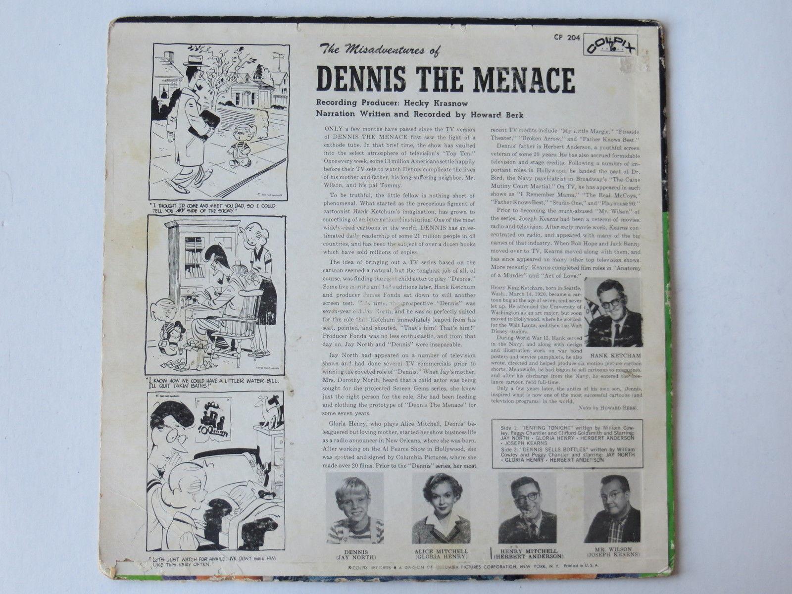 Dennis_the_Menace_Signed_Album_Cover