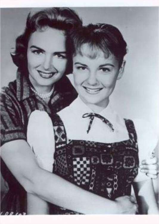 Donna Reed and Shelley Fabares - Sitcoms Online Photo ...