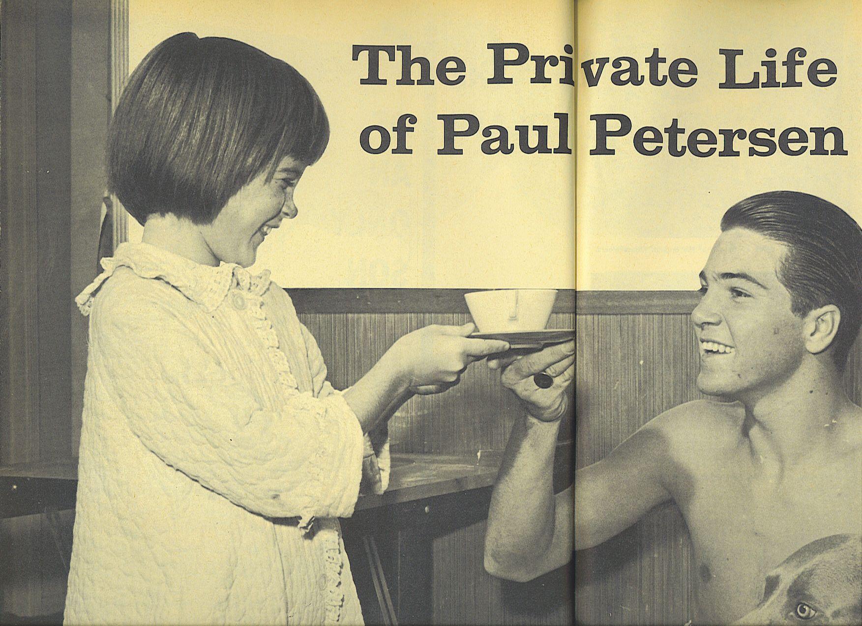 paul petersen height