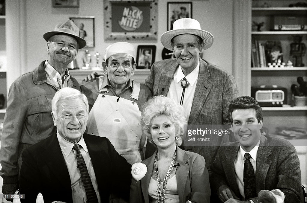 Green Acres Cast Nick At Nite Promo Shoot 1989