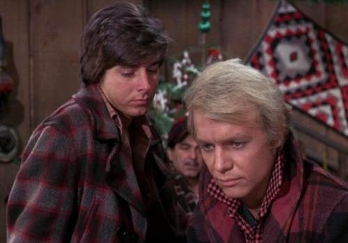 Bobby Sherman & David Soul on Here Come The Brides ...