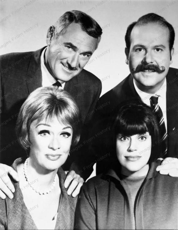 Eve Arden, Kaye Ballard, Herbert Rudley & Roger C. Carmel ...