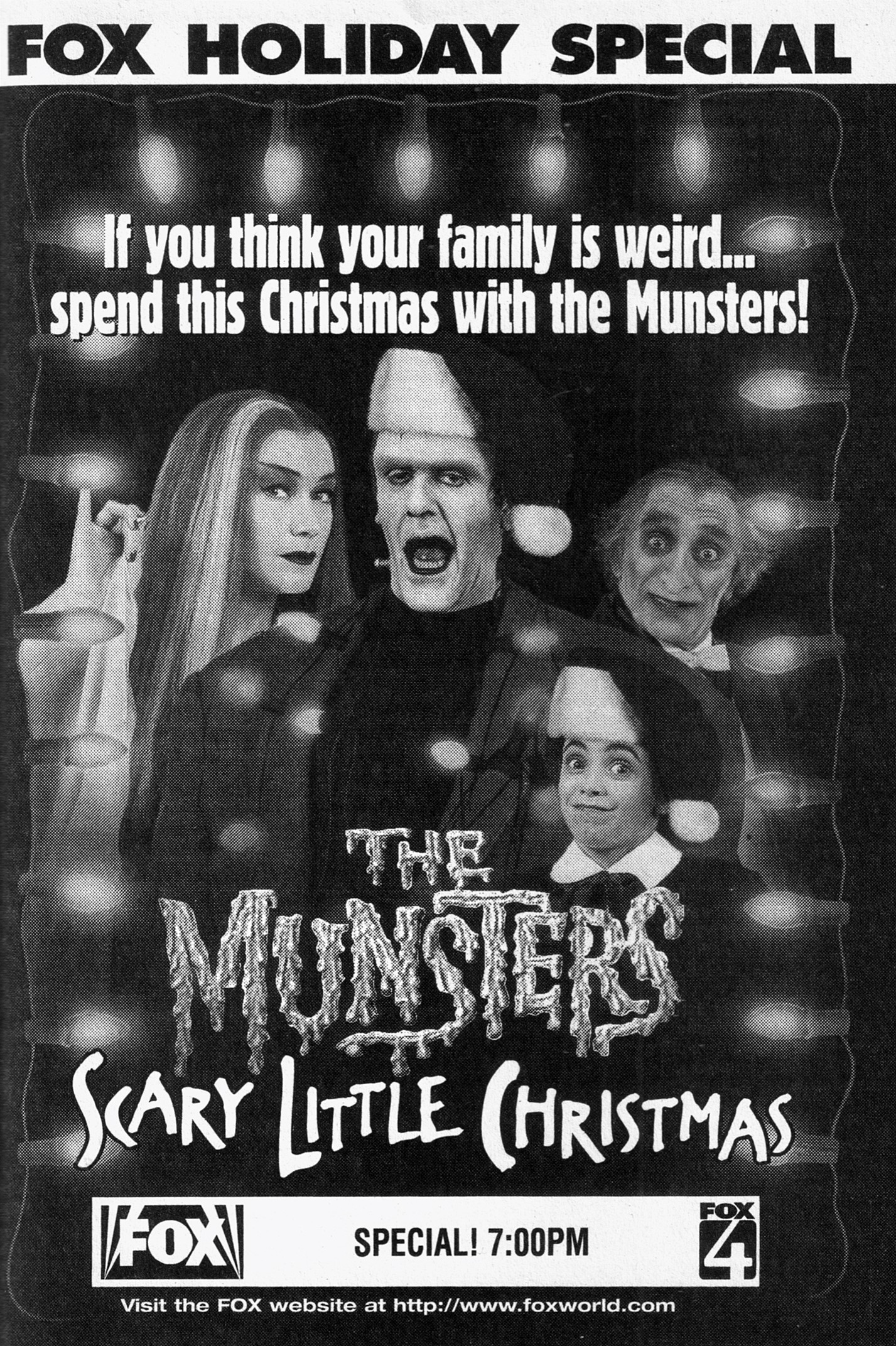 The Munsters' Scary Little Christmas - Sitcoms Online Photo Galleries
