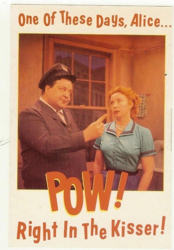 VINTAGE_THE_HONEYMOONERS_1954_TV_RARE_COLOR_PUBLICITY_PHOTOGRAPH_SITCOM_POS