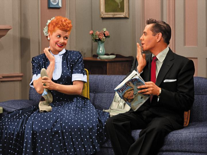 lucy and ricky ricardo relationship