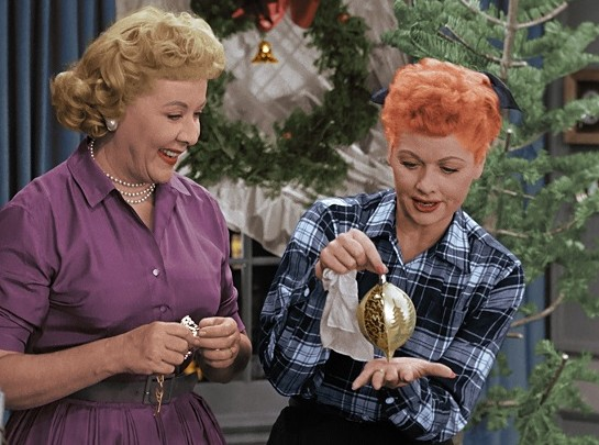 I Love Lucy Christmas Episode In Color Sitcoms Online