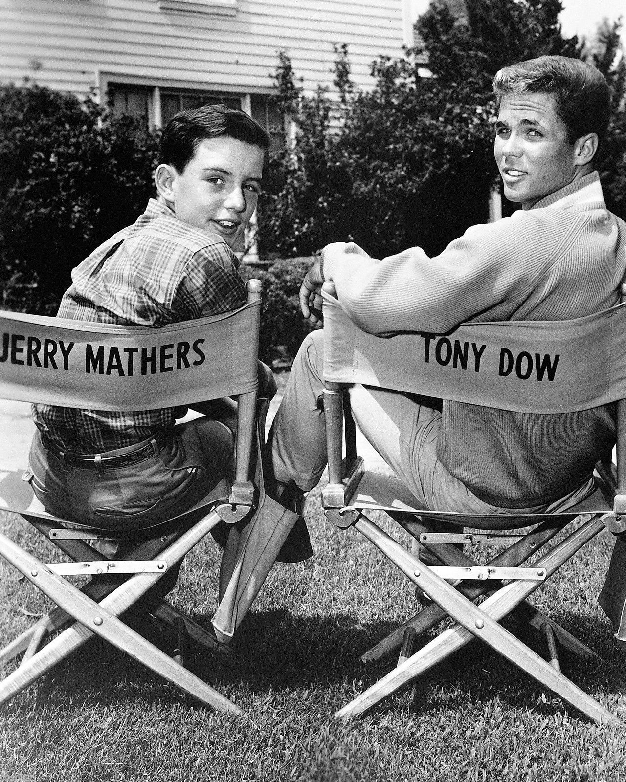 Jerry Mathers & Tony Dow - Sitcoms Online Photo Galleries