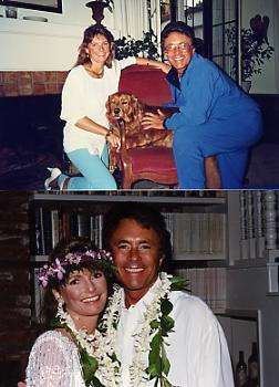 Bill Bixby On His Wedding Day To 2nd Wife Laura Michaels
