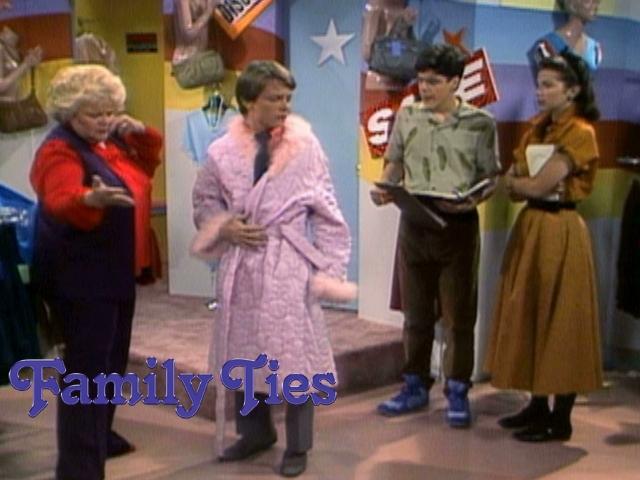 Alex Skippy And Mallory Fabric Smarts Episode Sitcoms