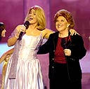 Lisa Whelchel and Charlotte Rae