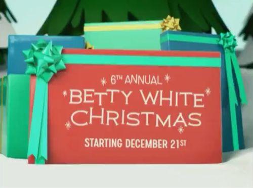6th Annual Betty White Christmas