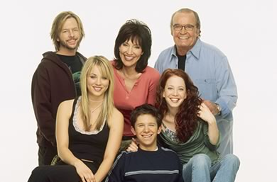 8 Simple Rules Cast with James Garner