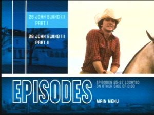 Dallas - DVD Menu Screen