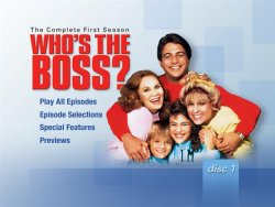 Who's the Boss DVD Menu Screen