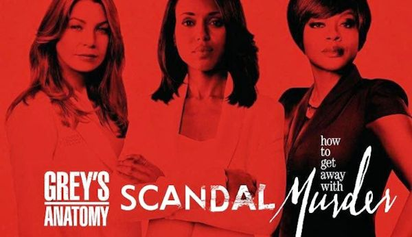 ABC TGIT - Grey's Anatomy, Scandal and How to Get Away with Murder