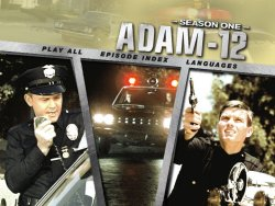 Adam-12 Season One Menu