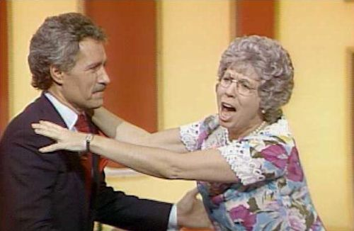 Mama's Family - Alex Trebek and Vicki Lawrence as Mama