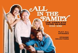 All in the Family - Season Three DVD Menu
