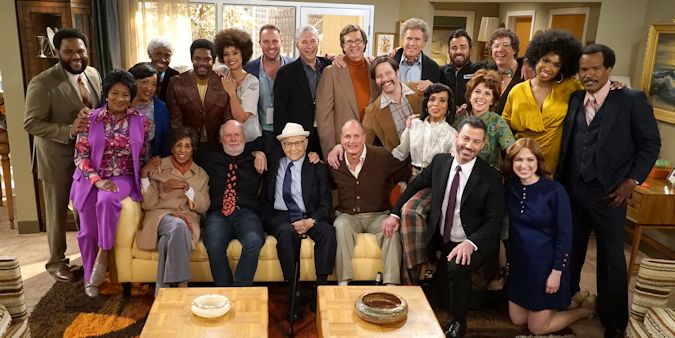 All in the Family & The Jffersons Live in Front of a Studio Audience