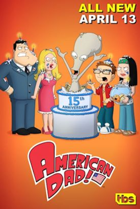 American Dad! 15th Anniversary