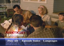 American Dreams DVD Menu