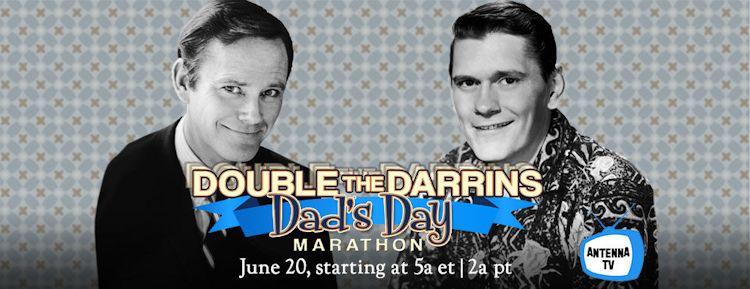 Antenna TV Double the Darrins Dad's Day Marathon