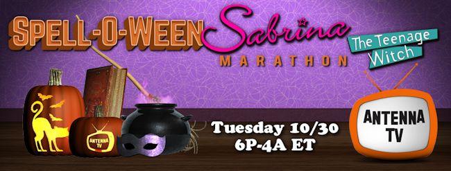 Antenna TV Spell-O-Ween Sabrina, the Teenage Witch Marathon