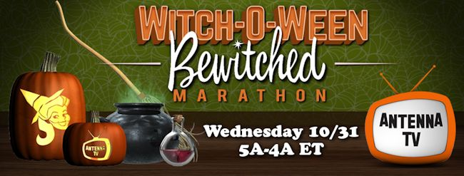 Antenna TV Celebrates Halloween with Bewitched and Sabrina