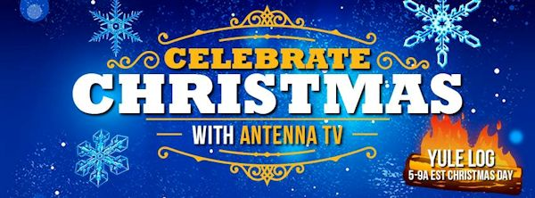 Antenna TV Yule Log