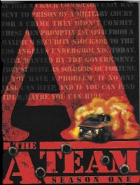 The A-Team DVD Case Cover
