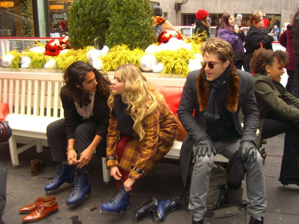 Avan Jogia, Sasha Pieterse and Keegan Allen