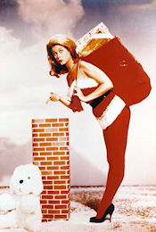 Elizabeth Montgomery - Bewitched - Christmas