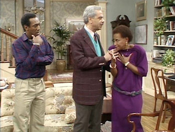 Bill Cosby, Earle Hyman and Clarice Taylor