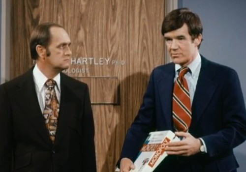 Bob Newhart and Jack Riley - The Bob Newhart Show