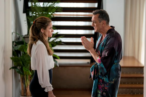 Brockmire - Amanda Peet and Hank Azaria