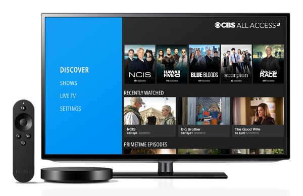 CBS All Access - Android TV