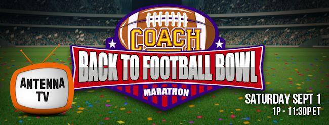 Coach Back to Football Bowl Marathon