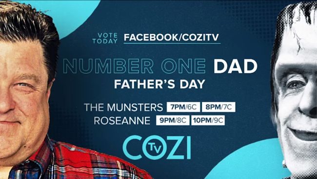 COZI TV Number One Dad