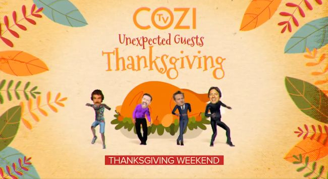 COZI TV Unexpcted Guests Thanksgiving Weekend Marathon