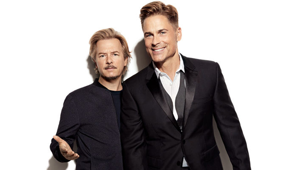 David Spade and Rob Lowe