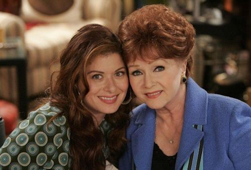 Debra Messing and Debbie Reynolds - Will & Grace