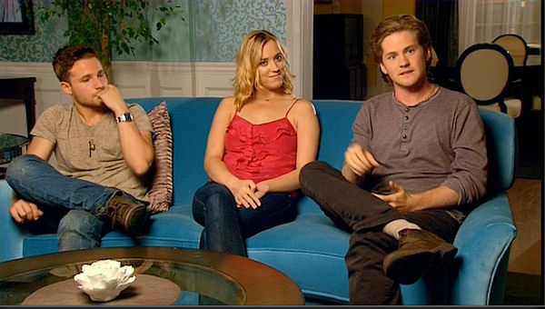Shawn Pyfrom, Andrea Bowen and Cody Kasch