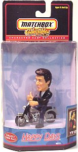 Fonzie Matchbox motorcycle