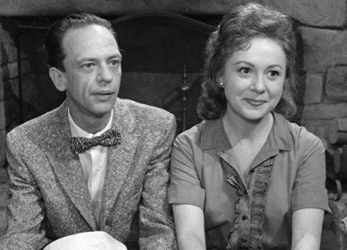 Don Knotts and Betty Lynn